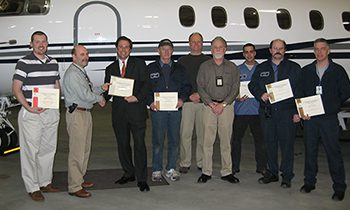 Continuous security and safety crew re-certification